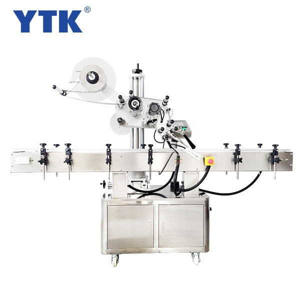 YTK-300 Automatic flattening labeling machine