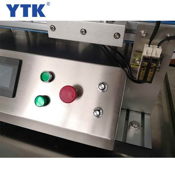 YTK-150 Fully automatic desktop round bottle labeling machine,single-sided hight level plastic bottle label machine