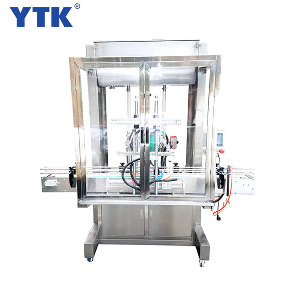 Straight line 2-head automatic liquid filling machine