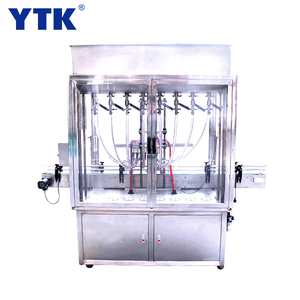 Custom-made Automatic eight heads paste filling machine