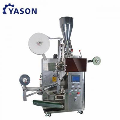 small scale inner and outer tea bag packing machine lipton dip tea leaf bag packing filling machine