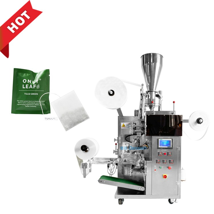 Hight speed Dession Filter Paper Dip Tea Bag Powder Packing Machine for Small Business Manufacturers